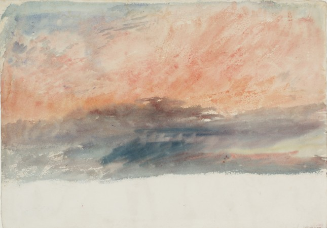 JMW Turner, Crimson Sunset