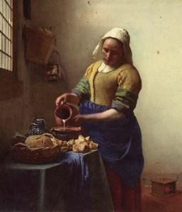 Johannes Vermeer - The Kitchen Maid