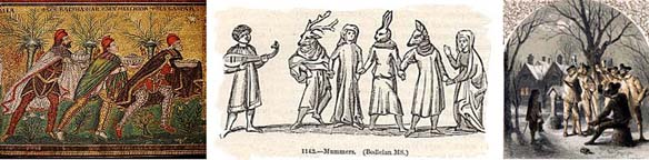 Magi,Mummers, Wassailing