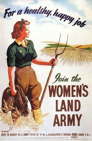 Womens Land Army