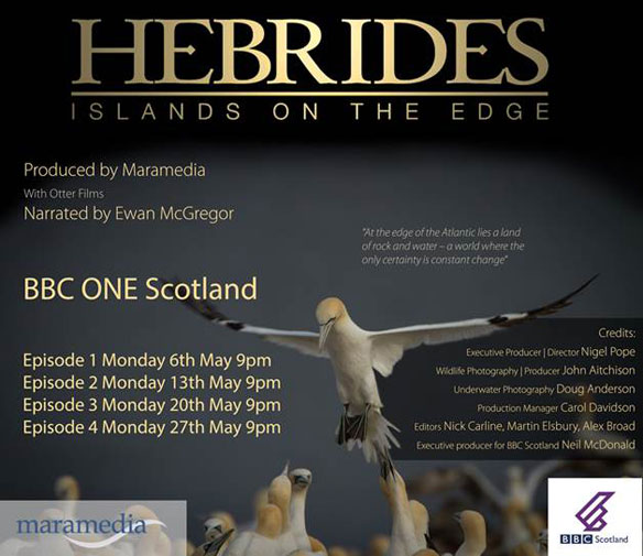 Hebrides Islands on the Edge