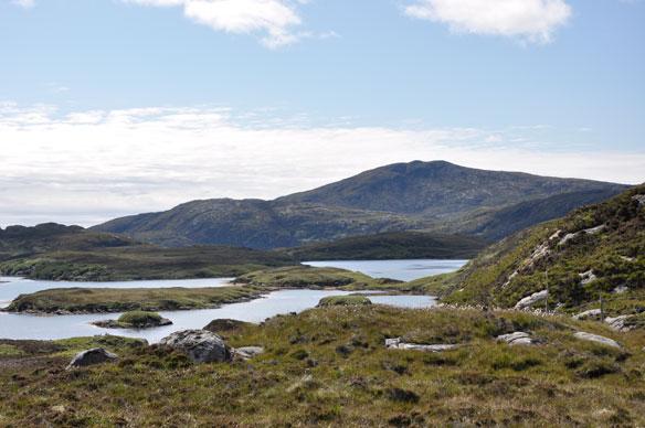 Loch Aineort, South Uist