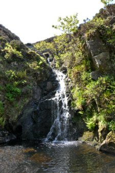 Hecla waterfall
