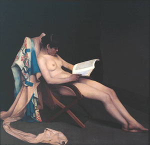 Reading Girl Théodore Roussel