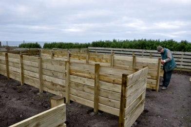 Building the internal fences