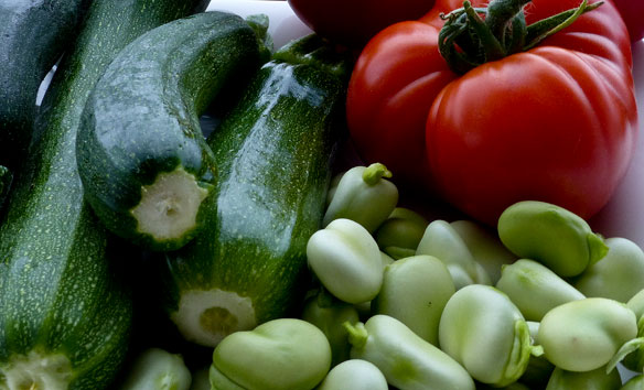 vegetables for plentiful soup
