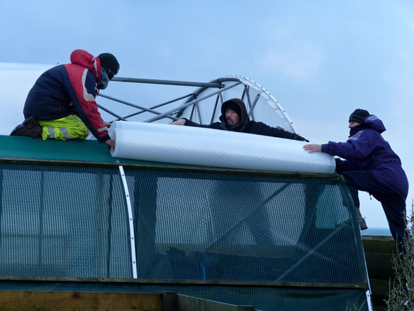 Repairing-the-Polytunnel-Roof
