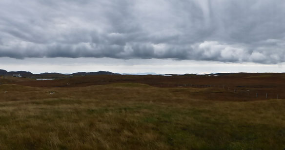 Scotvein , Grimsay autumn clouds