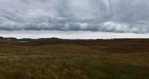 Scotvein , Grimsay autumn clouds