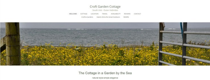 Croft Garden Cottage Website