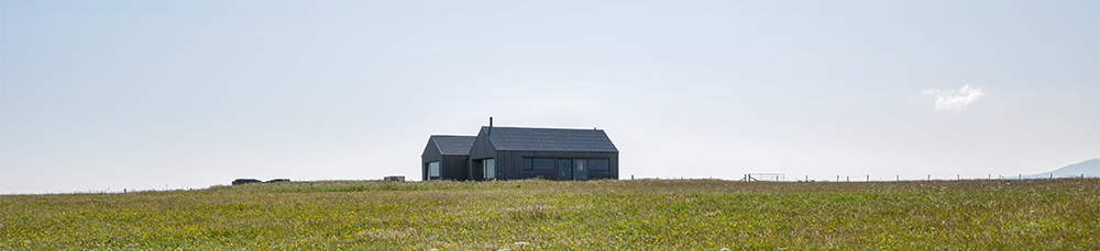 house in a meadow